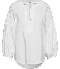 rodebjer nim blouse lange mouwen wit rodebjer