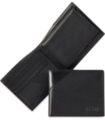 men's guess monterrey billfold wallet with removable passcase