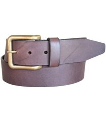 lejon men's catch release steerhide casual jean leather belt