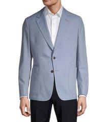 paul smith men's standard-fit wool blazer - ivory - size 54 (44)