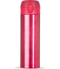 garrafa térmica 450 ml serene topget rosa