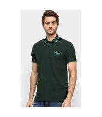 camisa polo ellus piquet sport color classic masculina