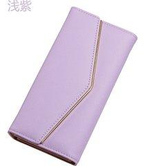 gran capacidad cartera para mujer/ bolso de-púrpura