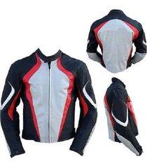 nen men white red black white motorbike leather jacket xs to 6xl