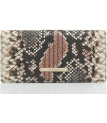 brahmin ady tea rose evita wallet