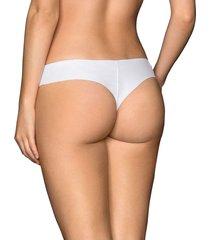 panty brasilera blanco leonisa 012720