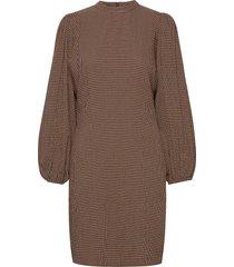 harrietta short dress 11238 kort klänning brun samsøe samsøe