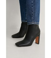 na-kd shoes ankelboots - black