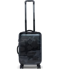 herschel supply co. small trade 23-inch rolling suitcase - black