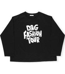 dolce & gabbana dg fashion tour sweater