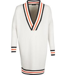 trui maison scotch white long sleeves