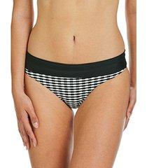 bikini sapph eva zwart-witte -broekkousen