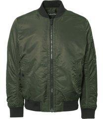 calvin klein black ink omal ma-1 bomber jacket k10k101255