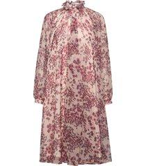 felice dress jurk knielengte roze ida sjöstedt