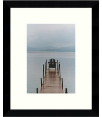 amanti art morning watch framed art print