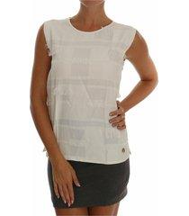 fringes blouse tank top