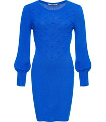 abito in maglia (blu) - bodyflirt boutique