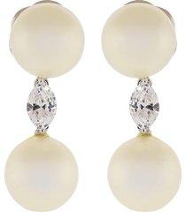 pearl drop earrings 12mm