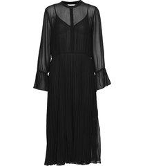 anita ls maxi dress knälång klänning svart second female