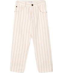 brunello cucinelli pink trousers