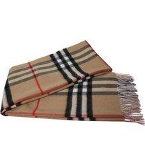 iconic plaid print scarf