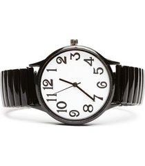 reloj color negro, talla uni