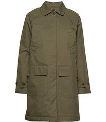 helena jacket parka lange jas jas groen lexington clothing