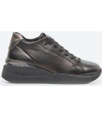 zapato casual mujer stonefly tdb8 negro