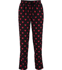 red valentino printed silk pants