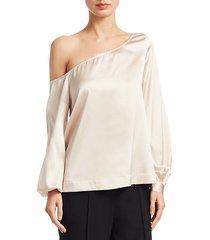 nevia one-shoulder blouse