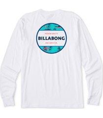 billabong men's rotor long-sleeve t-shirt