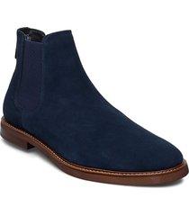 relari shoes chelsea boots blå aldo