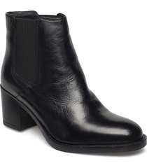 mascarp bay shoes boots ankle boots ankle boots with heel svart clarks