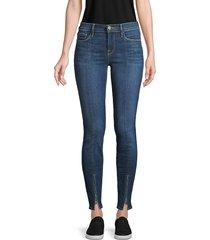 frame denim women's le skinny de jeanne zip-leg jeans - napa - size 23 (00)