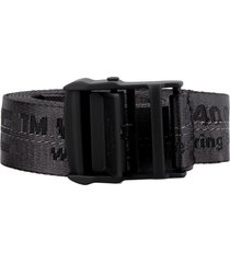 industrial fabric belt with logo