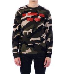 valentino military sweater