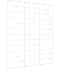 memory board quadro de fotos rosa - 65cm x 45cm  6 mini prendedores