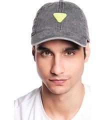 gorra cascos gris oscuro