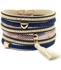 bohemian ibiza armband goud jeans