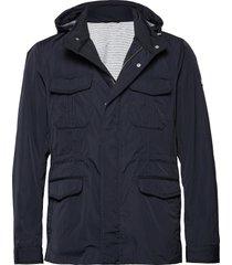 field jacket tunn jacka blå hackett london
