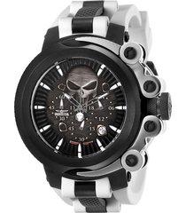 reloj blanco negro invicta marvel 26007 - yakaim