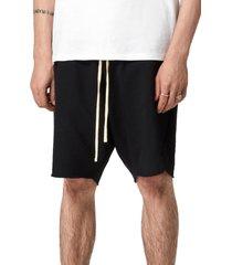 men's allsaints men's ryder helix shorts, size xx-large - black