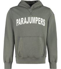 parajumpers chess hooded sweatshirt