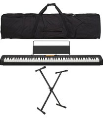 combo casio cdp-s350 piano base estuche