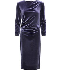 nisas dress jurk knielengte blauw inwear
