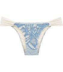 track & field elo bikini bottoms - blue