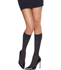 hanes women's 2-pk. x-temp opaque knee-high socks