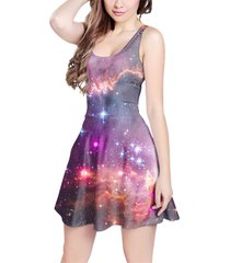 fairytale galaxy sleeveless dress