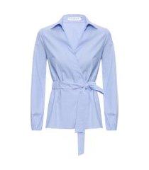 camisa feminina roxanne - azul