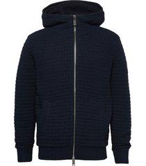 jacket hoodie blå armani exchange